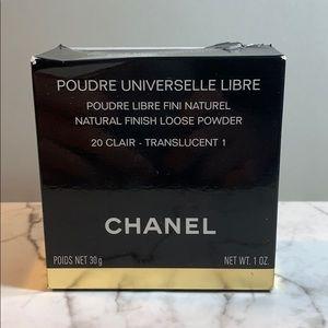 Chanel Natural Finish Loose Powder 20 Clair w Box